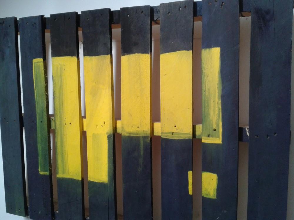 Kerstin Carolin Beyer, Painting, Kunst, Acrilic, colors, Malerei, palet, wood