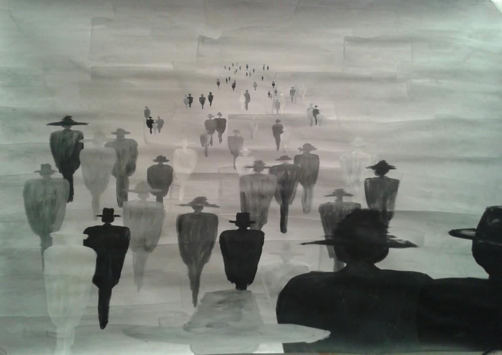 Kerstin Carolin Beyer, Painting, Kunst, Acrilic, colors, Malerei