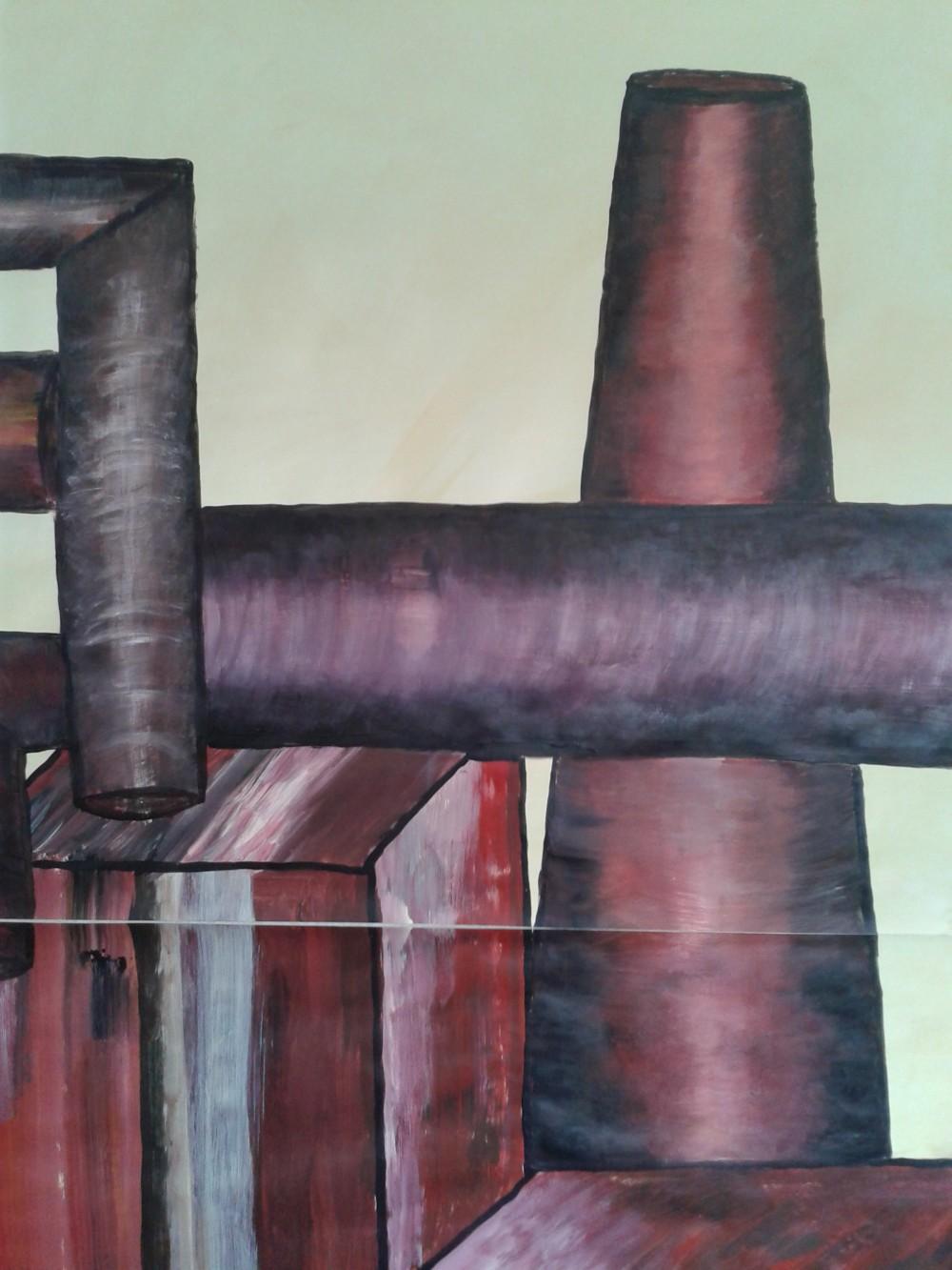 Kerstin Carolin Beyer, painting, Acrilic, Kunst, Industry