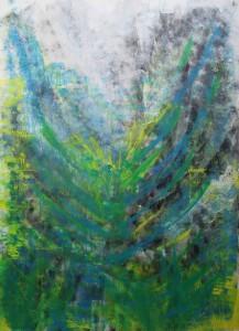 Kerstin Carolin Beyer, Painting, Kunst, Acrilic, colors, Malerei, grossformatig, Energy