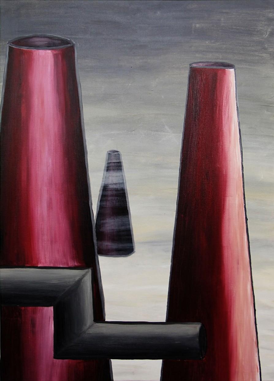 Kerstin Carolin Beyer, Painting, Kunst, Acrilic, colors, Malerei, Industrie, industry