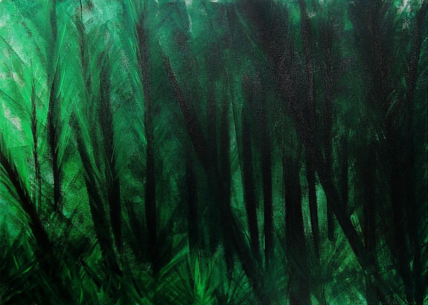 Kerstin Carolin Beyer, Painting, Kunst, Acrilic, colors, Malerei, nature, Mauritius