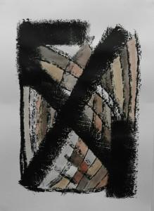 Kerstin Carolin Beyer_X-cross_2016_Acrylic on paper_59.5x42cm_€320.jpeg