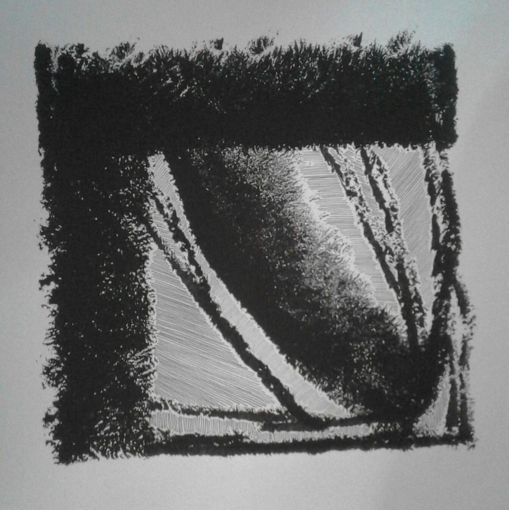 Kerstin Carolin Beyer, art, drawings, paintings, black and white, acrilic, ink