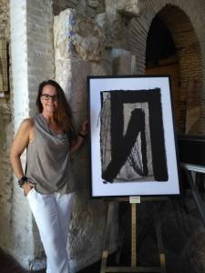 Kerstin Carolin Beyer, exhibition, exposición, arte, art, pintura, painting, open the door,