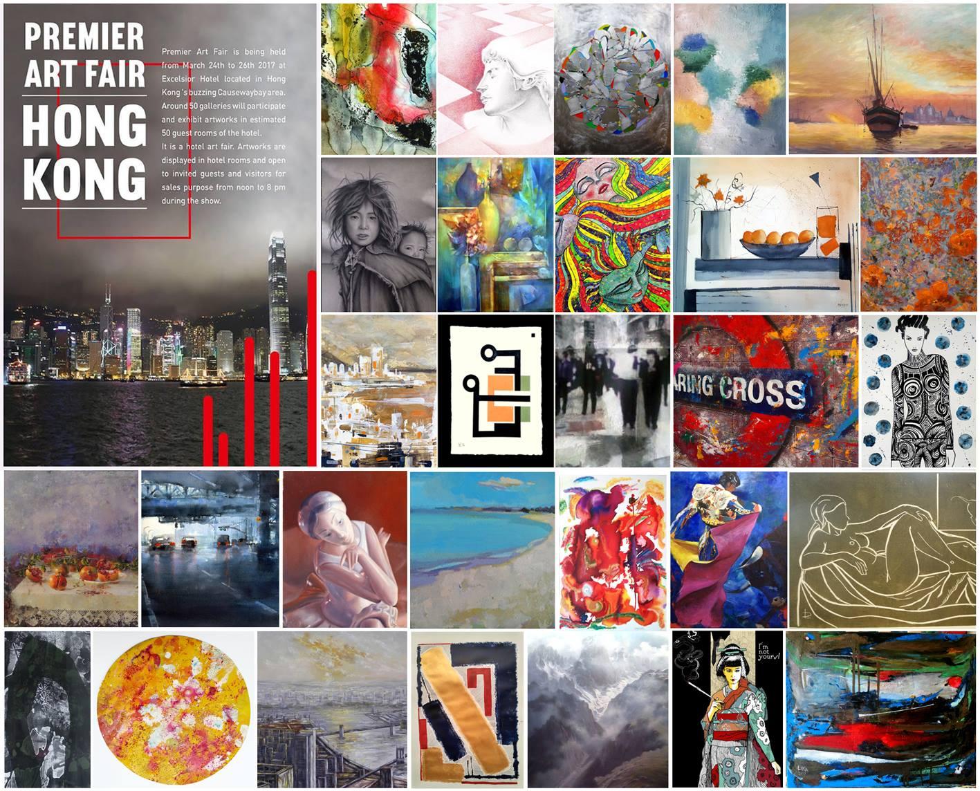 Kerstin Carolin Beyer, paintings for Hong Kong