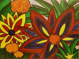 Paradise_Kerstin Carolin Beyer_Acrilic on canvas_90x116 cm_1100.-€