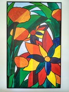 Kerstin Carolin Beyer, Pintura, Acrílico, Big format, tamaño grande, colores, colours