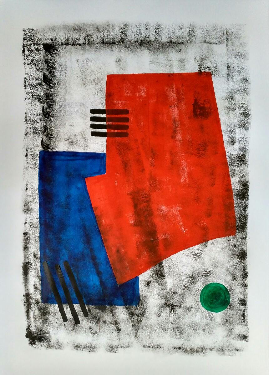 Kerstin Carolin Beyer, Art, arte, Colores, Fussball Weltmeisterschaft, mundial fútbol