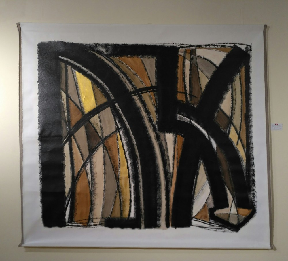 Acrilico sobre lienzo, 219x200cm, big format